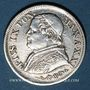 Coins Vatican. Pie IX (1846-1878). 10 soldi 1867/7R, an XXI. Rome