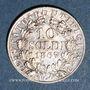 Coins Vatican. Pie IX (1846-1878). 10 soldi 1867R, an XXII. Rome