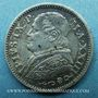 Coins Vatican. Pie IX (1846-1878). 10 soldi 1869, an XXIII. Rome