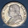 Coins Vatican. Pie IX (1846-1878). 20 baiocchi 1859R, an XII. Rome