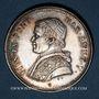 Coins Vatican. Pie IX (1846-1878). 50 baiocchi 1850R. Rome