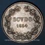Coins Vatican. Pie IX (1846-1878). Scudo 1854R, an IX, Rome