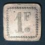 Coins 11e Génie. Mess. Strasbourg (67). 1 franc