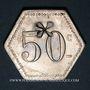 Coins 11e Génie. Mess. Strasbourg (67). 50 centimes