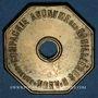 Coins Ahun (23). Compagnie Anonyme des Houillères d'Ahun. 2 francs payables en pain