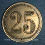 Coins Ajaccio. Villa Natalia. 25 centimes