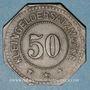 Coins Algrange (57). Gemeinde Algringen (Municipalité d'Algrange). 50 pfennig