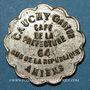 Coins Amiens (80). Café de la Préfecture - Cauchy Gaston (64 rue de la République). 30 centimes