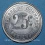 Coins Amiens (80). Chambre de Commerce. 25 centimes 1920