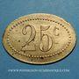 Coins Amiens (80). Société Coopérative de l'Atre. 25 centimes