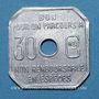 Coins Amiens (80). Société des Tramways d'Amiens. 30 centimes 1922-23