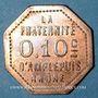 Coins Amplepuis (69). La Fraternité - Société Coopérative. 10 centimes