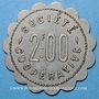 Coins Amplepuis (69). La Fraternité - Société Coopérative. 2 francs