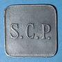 Coins Angoulême (16). S. C. P. (Société Coopérative de la Poudrerie). 10 centimes