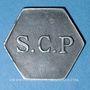 Coins Angoulême (16). S. C. P. (Société Coopérative de la Poudrerie). 25 centimes