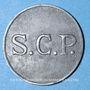 Coins Angoulême (16). S. C. P. (Société Coopérative de la Poudrerie). 5 centimes