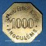 Coins Angoulême (16). Société du Riz Lacroix (La +). 1000