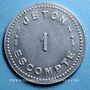 Coins Annecy (74). Comptoir Savoyard. 1 franc