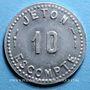 Coins Annecy (74). Comptoir Savoyard. 10 centimes