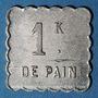 Coins Annemasse (74). Société Coopérative des Agents de la Compagnie P.L.M. 1 kilo pain