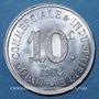 Coins Annonay (07). Union Commerciale et Industrielle. 10 centimes 1918