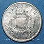 Coins Annonay (07). Union Commerciale et Industrielle. 10 cmes 1918, maillechort, monnaie fautée
