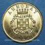 Coins Annonay (07). Union Commerciale et Industrielle. 25 centimes 1918. Laiton