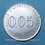 Coins Arceuil-Cachan (94). Office d'Approvisionnement. 0,05 franc