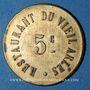 Coins Arles (13). Restaurant du Vieil Arles. 5 centimes