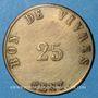 Coins Arles (13). Usine de Giraud - H. Merle & Cie. 25 centimes