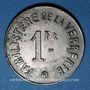 Coins Arleux (59). Sté Ame des Verreries d'Arleux. 1 franc