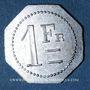 Coins Artillerie. 112e RALD. Mess des Sous-Officiers. Angoulême. 1 franc