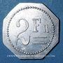 Coins Artillerie. 112e RALD. Mess des Sous-Officiers. Angoulême. 2 francs