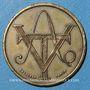 Coins Aubenas (07). Société Ardéchoise des Tramways Electriques. 25 centimes