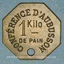 Coins Aubusson (23). Conférence d'Aubusson. 1 kg pain