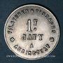 Coins Audincourt (25). Filatures et Tissages Japy. 1 franc