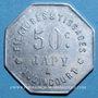 Coins Audincourt (25). Filatures et Tissages Japy. 50 centimes