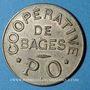 Coins Bagès (66). Coopérative. 2 francs