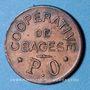 Coins Bagès (66). Coopérative. 25 centimes