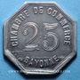 Coins Bayonne (64). Chambre de Commerce. 25 centimes 1920