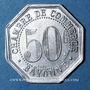 Coins Bayonne (64). Chambre de Commerce. 50 centimes 1920
