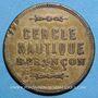 Coins Besançon (25). Cercle nautique. sans valeur