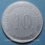 Coins Boulogne Billancourt (92). Sté des Usines Renault. 10 centimes