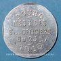 Coins Bourg-en-Bresse (01). Mess des Sous-Officiers du 23e. Bourg. 10 centimes 1918