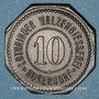 Coins Bouzonville (57, Lorraine) (Busendorf), Lothringer Walzengiesserei. 10 pfennig