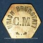 Coins Brunstatt (68). Cercle musical - Union Brunstatt. sans valeur (pour l'eau minérale Carola)