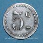 Coins Castres (81). Restaurant Coopérative - D.P.A. (Dépôt du Parc d'Artillerie. 5 centimes