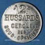 Coins Cavalerie. 12e hussards. Cercle des sous-officiers. 5 centimes