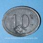 Coins Cholet (49). Cantine GIRARD - 77e d'Infanterie. 10 centimes. Contremarqué