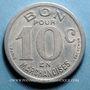 Coins Cognac (16). Epicerie J. Dalidet. 10 centimes 1922